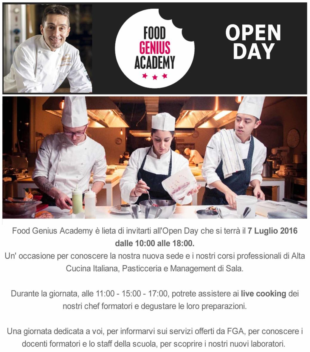 Food Genius Academy - Open Day-1